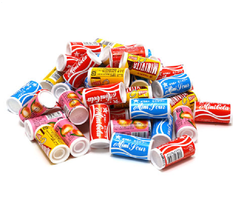 Orion Mini Ramune 5 kinds candy Marble Soda 9g x 25 pcs From JAPAN - $24.00