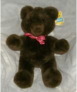 "16"" VINTAGE R DAKIN SEMI SWEETS TEDDY BEAR 1986 STUFFED ANIMAL PLUSH TOY... - $45.82"
