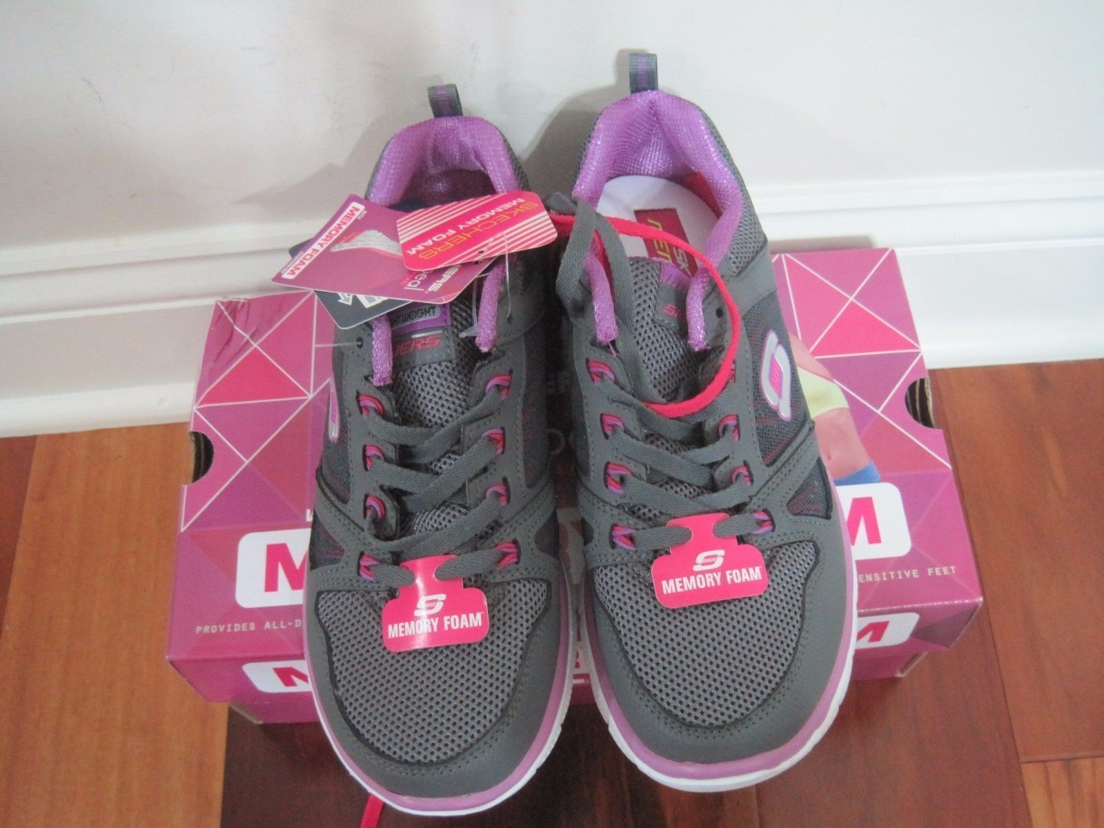 BNIB Skechers Flex Appeal - Spring Fever Womens' Athletic Shoes, ships w/o box image 5