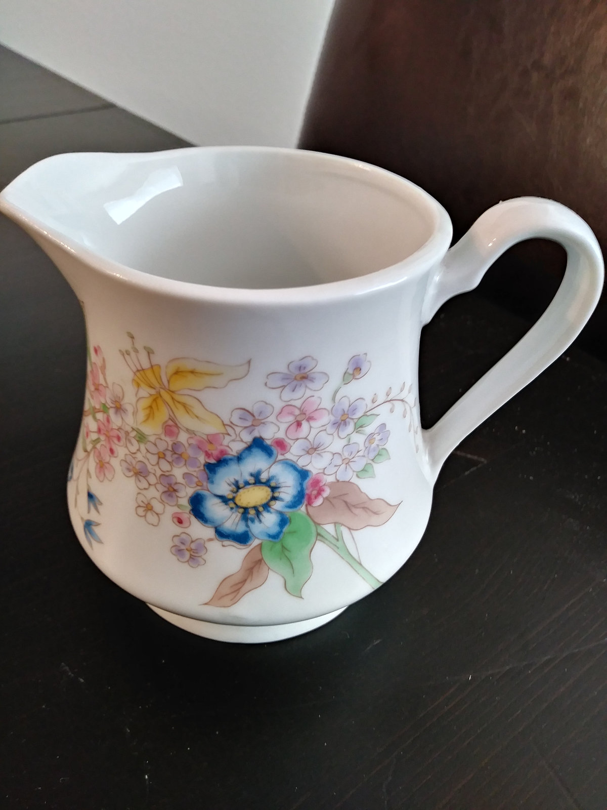 Meadows Flowers Fine Porcelain by Shafford Japan Creamer/Pitcher