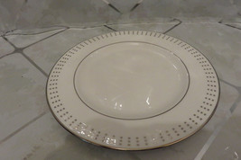 "LENOX: HERALD SQUARE PLATINUM 8.25"" Salad Plate NEW MINT with Tags - $6.85"