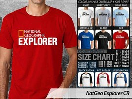 NEW T shirt National Geographic Explorer Many Color & Design Option - $10.99+