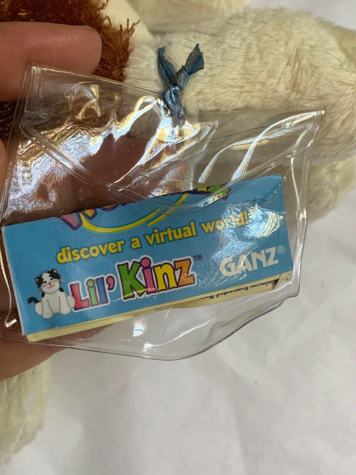 Ganz Webkinz Shaggy Brown White Basset Hound Puppy Dog Stuffed Plush Animal 9in image 6
