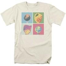 Dum-Dums T-shirt Pop Art retro candy classic brands lollipop tee DUM114 Tan image 2