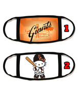 San Francisco Giants SF giants Face Mask with black string reusable wash... - $14.54+