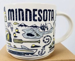 Starbucks 2019 Minnesota Been There Collection Coffee Mug NEW IN BOX - $29.99