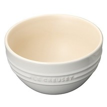 Le creuset Rice Bowl  12*12*6.5cm 350ml 910212-00-01 White - $48.90