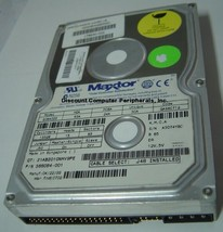 90640D3 Maxtor 6.4GB 3.5IN IDE 40 pin Hard Drive Tested Good Our Drives Work
