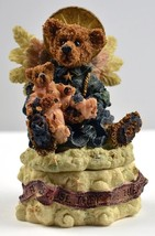 Boyds Bears & Friends Trinket Box  Angelica The... - $7.66