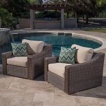 Club Chairs (4pc) Sunbrella® Outdoor Arm Chairs Patio Set Furniture Deep... - $2,276.99