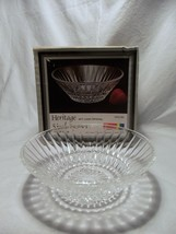 New in Box Set of 4 FOSTORIA heritage clear DESSERT bowls - $14.01
