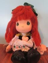 "Precious Moments Irish Doll the worlds children red yarn  Hair 13"" - $26.93"