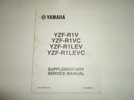 2006 Yamaha YZF R1V YZF R1VC YZFR1LEV YZFR1LEVC Supplementary Service Ma... - $29.65