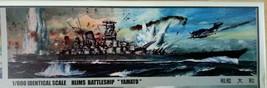 1Nichimo 1/600 IJN Battleship Yamato Motoized plastic model kit, rare - $93.10