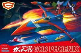 Academy Gatchaman GOD PHOENIX GODPHOENIX Command Plane MCP Color Edition... - $75.98