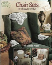 Chair Sets in Thread Crochet 1153 American School of Needlework 1993 - $4.84
