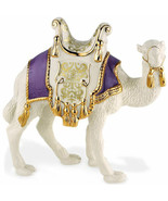 Lenox First Blessing Camel Figurine Nativity Standing Purple Pad Christmas NEW - $297.00