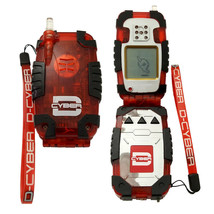 Bandai Digimon Digital Monster Digivice D-Cyber Limited Version 2 Red Black Rare - $177.21