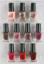 New E.L.F. 10 Piece Nail Set Mix and Match Gorgeous Nail Polish Colors NIB image 2