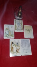 Merlin Tarot Reading With Five Cards - $25.55