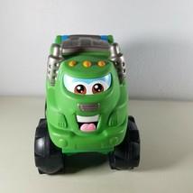 Tonka Chuck & Friends Soft Squishy Green Garbage Truck Racing Rowdy 2002 - $34.99