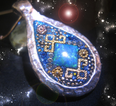 HAUNTED AMULET OF EXTRAORDINARY FAME, FORTUNE SUCCESS HIGHEST LIGHT OOAK... - $4,280.31