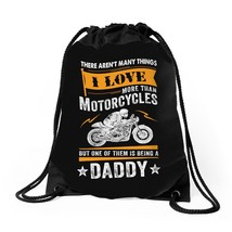 Motorcycles Daddy, Drawstring Bags - $30.00