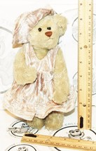 TY DARLENE BEANIE BABY TEDDY BEAR ATTIC TREASURES COLLECTION JOINTED DRE... - $2.85