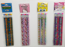 Inkology Officially Licensed Set of 6 Pencils -Choose your style