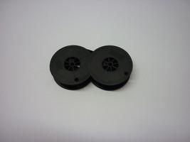 Smith Corona Galaxie/Coronet Electric 10 Typewriter Ribbon Black/Red Twin Spool image 2