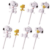 Snoopy and Woodstock Food Picks - Lunch Decorations Toppers Set of 8 - $8.20