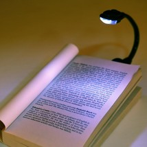 Adjustable Bright Led Clip On Book Reading Light Durable Mini Table Lamp... - $9.49