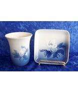 Royal Copenhagen -- Bing & Grondahl (B&G) -- Porcelain Soap Dish and Cup... - $24.99