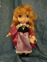 "Disney Store Animators Edition Aurora Sleeping Beauty16"" Doll w/ Pet Owl - $27.70"