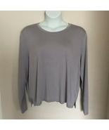 Athleta Women's Plus Size Threadlight Lilac Long Sleeve Relaxed Side Sli... - $39.66