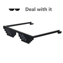 Sunglasses for Men Women Meme Gag Gift Cool Funny Gifts Deal With It thug life G - $21.98