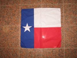 "Wholesale Lot 6 22""x22"" Texas Flag Cotton Bandana - $15.55"