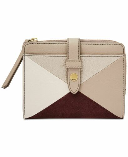 Fossil Women's Fiona Multifunction Tab Wallet (Pink)