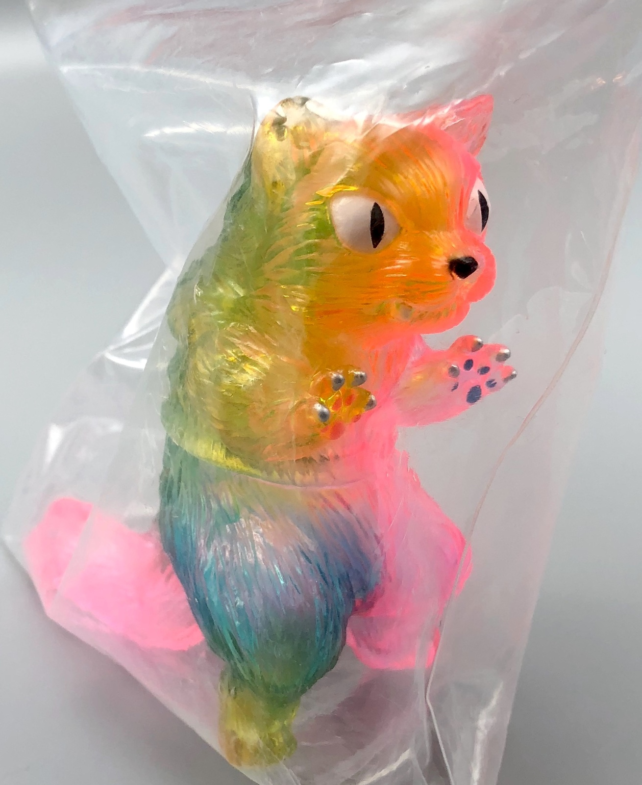 Max Toy Clear Rainbow Nekoron Rare - Mint in Bag