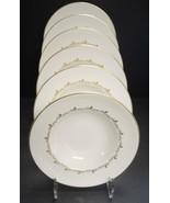 Six Royal Doulton Rondo Pattern Rimmed Soup Bowls - $30.39