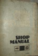 1984 Chevy Monte Carlo El Camino Impala Caprice Impala Service Shop Manu... - $33.61