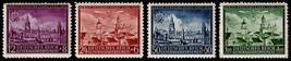 1942 Lublin Set of 4 Poland Postage Stamps Catalog Number NB15-18 MNH