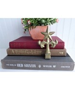 Fence Finial Gold Cast Iron Star Top Fancy Arm USA Made Country Farmhouse - $20.00