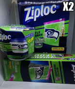 Ziploc Party Pack Slider Bags 40 Count 4 Twist 'n Lock container - $18.99