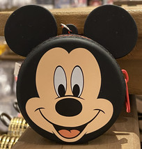 Disney Parks Mickey Mouse Face Coin Purse Hanger Keychain Key Chain NEW - $19.90