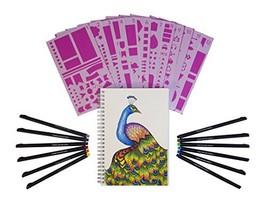 Journal Kit Starter Set - A5 Dotted Spiral Notebook - 12 Fineliner Pens ... - $13.81
