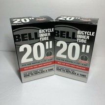 """Lot of 2 Bell Bike Bicycle 20"""" Inner Tube Fits Tire Widths 1.75""""-2.25"""" S... - $18.95"""