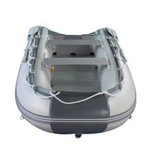 BRIS 9.8ft Inflatable Boat Tender Fishing Raft Dinghy Boat + Free Launch Wheels image 6