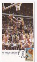 BASKETBALL CENTENNIAL #2560 SPRINGFIELD, MA 8/28/1991 BILL LANIER PASTE ... - $3.13
