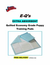 150 Puppy Pads Quilted 4-Ply Econo-Quilts Training Pee Pads 23x36 Use3x'... - $34.95